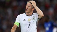 Bastian Schweinsteiger im EM-Halbfinale gegen Frankreich.  (Quelle: imago/Contrast)