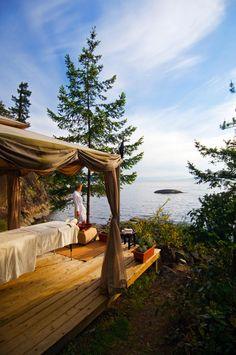 Sunshine Coast Accommodations and Spa at Rockwater Secret Cove Resort   British Columbia Canada