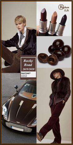 '' Rocky Road '' Pantone - Autumn/ Winter 2020 Color- by Reyhan S. '' Rocky Road '' Pantone - Autumn/ Winter 2020 Color- by Reyhan S. Fashion Colours, Colorful Fashion, Cheap Fashion, Fashion Women, 2020 Fashion Trends, Fashion 2020, Color 2017, Autumn Winter Fashion, Fall Winter