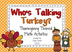 This Thanksgiving themed packet includes 6 different Common Core aligned math games! These will keep your kiddos entertained during the *hard-to-stay-focused* holiday months!