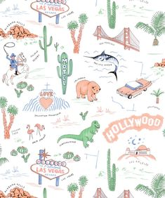 The Roadtrip Wallpaper from the Wallpaper Republic Collection by Milton & King