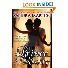Sandra Marton, Author of The Prince of Pleasure, is giving Amazon Gift Cards for each day of the 12 Day Event. To get your copy of Sandra's latest book visit Amazon here www.amazon.com/...