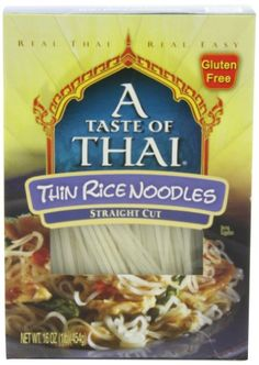 A Taste of Thai Thin Rice Noodles 16Ounce Boxes Pack of 6 >>> You can get more details by clicking on the image.Note:It is affiliate link to Amazon.
