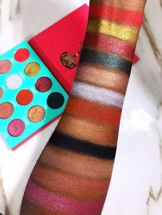 Juvia's Place Saharan Eyeshadow Palette Swatches on Dark Skin