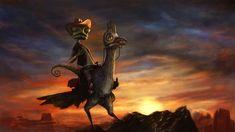 Rango  by ~bloodyBarbarian  Fan Art / Digital Art / Painting & Airbrushing / Movies & TV