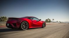 Review: 2017 Acura NSX | The combination of internal combustion and electric motivation delivers a smooth whoosh of energy leading up to peak torque, between 6,500 and 7,500 rpm. | Credit: Honda | From Wired.com