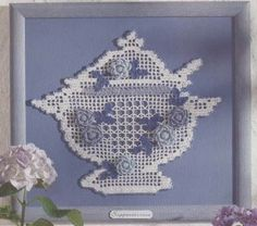 Teapot by Beth Steiner ~ free pattern/Diagram