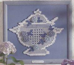 Teapot by Beth Steiner ~ free pattern/Diagram