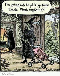 Halloween Cartoons, Halloween Cat, Halloween Humor, Halloween Ideas, Funny Cartoons, Funny Comics, Cat Memes, Funny Memes, Beautiful Dark Art
