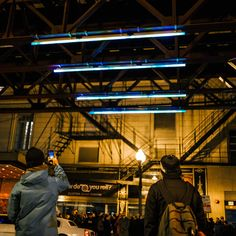Chicago's 'L' Tracks Are Becoming a Futuristic Neon Light Show
