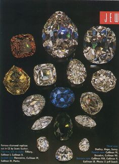 Famous jewels | ... the Premier Rose, The Golden Jubilee, Golden Jubilee. Famous Diamonds
