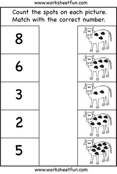 Counting - 8  Worksheets