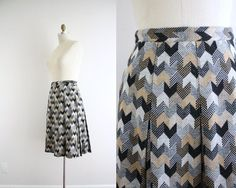 Love chevrons in general, love this skirt.