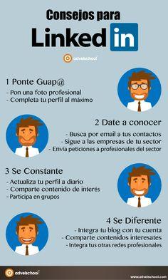 Consejos para Linkedin #infografia