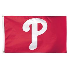 PHILADELPHIA PHILLIES LOGO P 3'X5' DELUXE FLAG BRAND NEW SHIPPING WINCRAFT