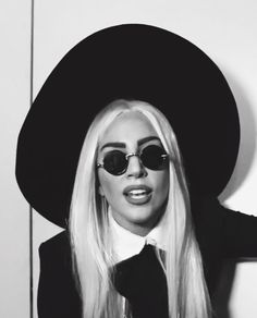 gaga over her glasses