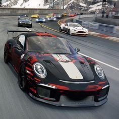 """Porsche 911 GT2 RS """"Invictus Corse""""  #porsche #911 #porsche911gt2rs #invictuscorse #lukynix #lukynixdesigns"""
