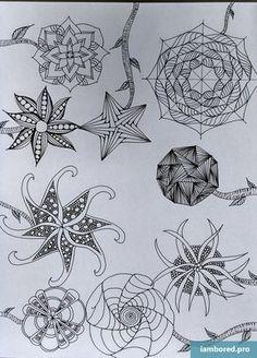 Zentangle Patterns40
