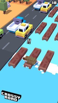 18 on #crossyroad. My top is 79.