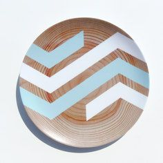 Broken Chevron Plate Sefoam, $21.50, now featured on Fab.