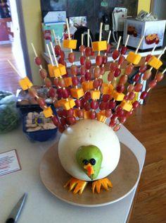 My mom's Thanksgiving center piece!