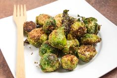 The Best Brussels Sprouts leave breadcrumbs out.
