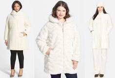 Shapely Chic Sheri - Currently Craving: Plus Size Winter White Coats