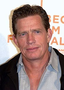Thomas Haden Church - Born in Yolo, California, raised & grew up in Laredo, Texas. Actor. Co-starred in '90s sitcom Wings. Acted in George of the Jungle, Award-winning film Sideways, Spider-Man 3, Smart People & Easy A.