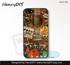 Phone Cases, iPhone 5/5S Case, iPhone 5C Case, iPhone 4/4S Case, The guitar, Phone covers, Case for iPhone~H-203