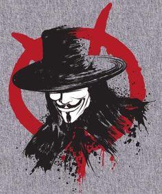 Revolution is Coming - V for Vendetta by Dr. Tattoo Sketches, Art Sketches, V For Vendetta Tattoo, Vendetta Mask, V For Vendeta, V Tattoo, Hacker Wallpaper, Trash Polka Tattoo, Batman