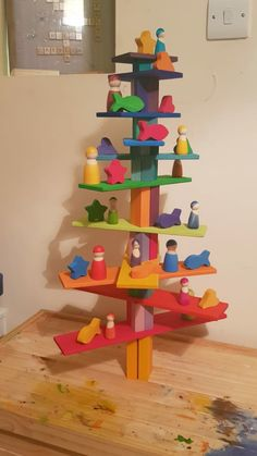 Grimm's Toys, Kids Toys, Grimms Rainbow, Block Play, Kid Toy Storage, Wood Creations, Wood Toys, Infant Activities, Diy For Kids