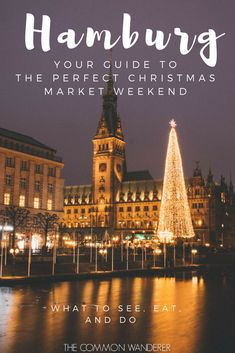 Don't know your Santa Pauli from your Roncalli when it comes to festive Hamburg? Don't worry, our Hamburg Christmas market weekend guide has you covered - including where to stay, what to see, eat, do, and know | Hamburg | Hamburg Christmas market | Christmas in Hamburg | Christmas markets | Christmas in Europe | weihnachtsmarkt | #hamburg #christmasmarket #europeanchristmasmarket #christmasinhamburg #weihnachtsmarkt