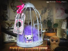 Potter fenchy party - Travaux pratiques : un boursouflet pour Ginny Weasley [pygmy puff] - harry potter diy tutorial - puffskein - weasley product - fantastical beast