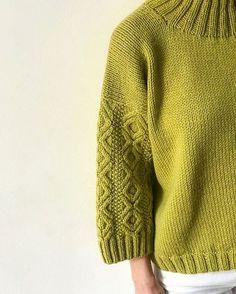 Crochet Converse, Sweater Knitting Patterns, Knitting Needles, Crochet Yarn, Crochet Clothes, Cable Knit, Lana, Pullover Sweaters, Knitwear