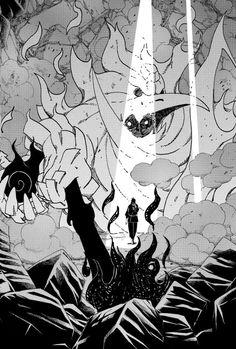 Susanoo of Sasuke in Eien no Mangekyō Sharingan version (manga) Anime Naruto, Susanoo Naruto, Naruto Fan Art, Naruto Shippuden Sasuke, Naruto And Sasuke, Itachi Uchiha, Boruto, Naruto Wallpaper Iphone, Wallpaper Animes