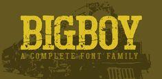 Fonts - Bigboy by Typogama - HypeForType Font Shop