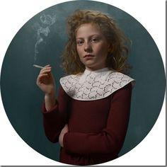 "Smoking Kids portraits by photographer Frieke Janssens - ""Smoking Kids"", portraits by photographer Frieke Janssens. Informations About Smoking Kids portraits - Baby Pictures, Baby Photos, Kind Photo, Divas, Glamour Shots, Girl Smoking, Art For Art Sake, Photo Series, Kids And Parenting"