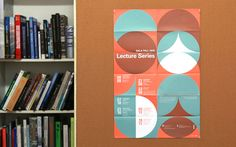 SALA Fall 2013 Lecture Series Poster (two color print)