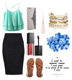 """""""Untitled #7"""" by lakeishajean on Polyvore featuring Billabong, Smashbox, Nanette Lepore, Oasis and Panacea"""