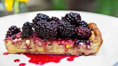 Puffy Corn Pancake with Blackberry Sauce=Corn Risotto Recipe - NYT Cooking