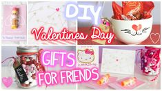 Watch this Video to get some ideas on Valentines Day Gifts for Freinds! <3