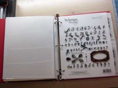 Scraproom: Clear Stamp organizing