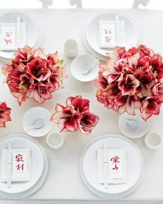 Chinese new year table | http://awesomevietnamstylesphotos.blogspot.com