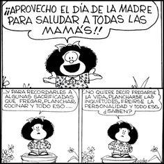 Mafalda, 50 años de feminismo en 18 viñetas | Verne EL PAÍS Favorite Quotes, Best Quotes, Mafalda Quotes, Like Quotes, Inspirational Phrases, Mom Day, Happy Mother S Day, Humor Grafico, Reading Quotes