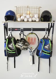 Wonderful Garage Sports Equipment Organizer