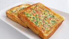 这个早餐太简单了 | 10分钟搞定 | 美味又健康 - YouTube Egg Recipes For Breakfast, Recipe Box, Quiche, Banana Bread, Sandwiches, Brunch, Tasty, Cooking, Desserts