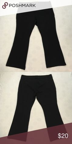 7dda7c0bb2316 ➕plus size➕ Torrid black knit career pants A wardrobe staple! Black boot cut
