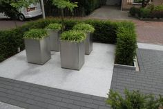 Moderne tuin met natuurstenen siervijver - Jor Garden