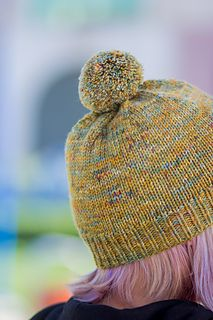 The only thing vanilla about this hat is the pattern!