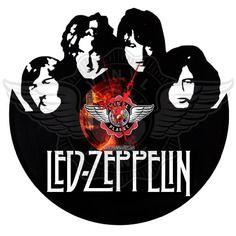 22,50 € Horloge vinyle décoration Led Zeppelin Led Zeppelin, Record Art, Boutique, Decoration, Darth Vader, Wall Clocks, Vintage, Wood Working, Etsy